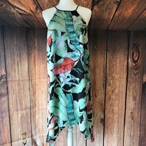 LC Lauren Conrad asymmetrical  dress sz small NWT!